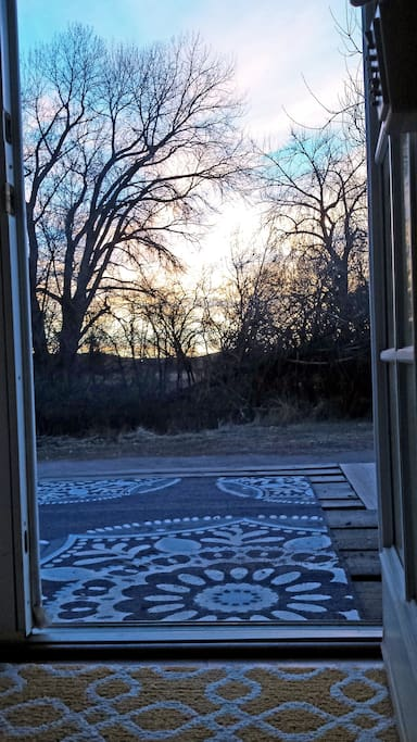 Porch Sunrise