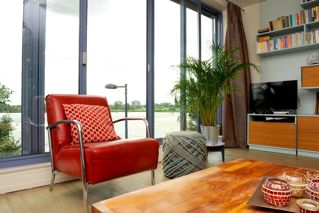 Lovely apartment with great view and 2 balconies for Affitto appartamento amsterdam centro