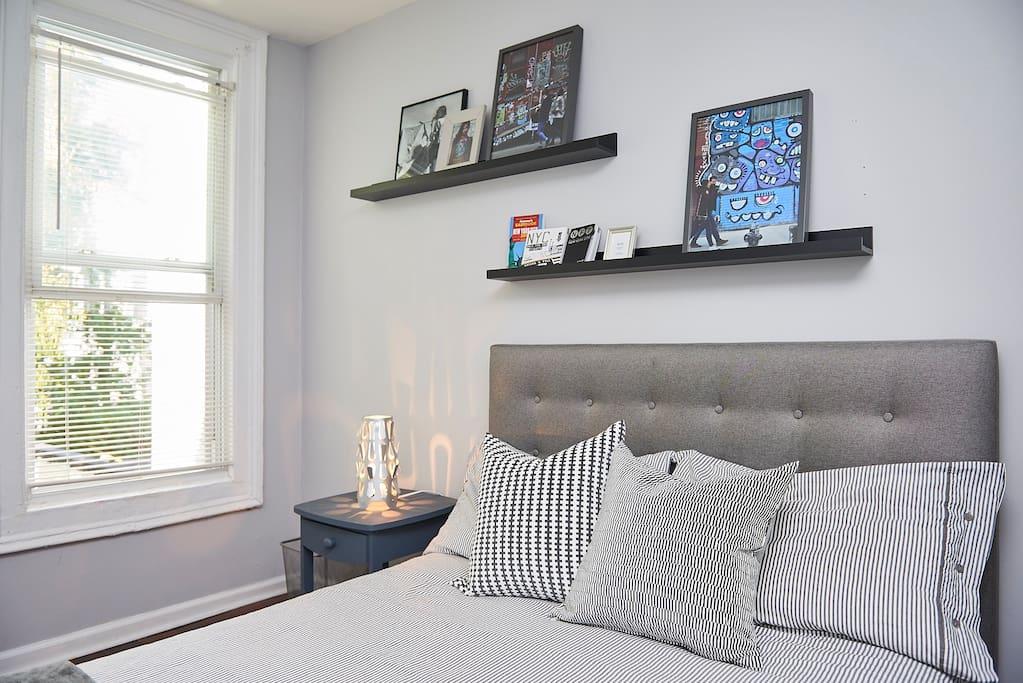 Sunny bedroom cozy townhouse in buschwick maisons de - Bel appartement de ville brooklyn new york ...