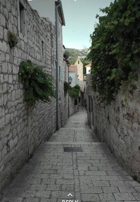 Enjoy  your walk through beautiful old town Rab!