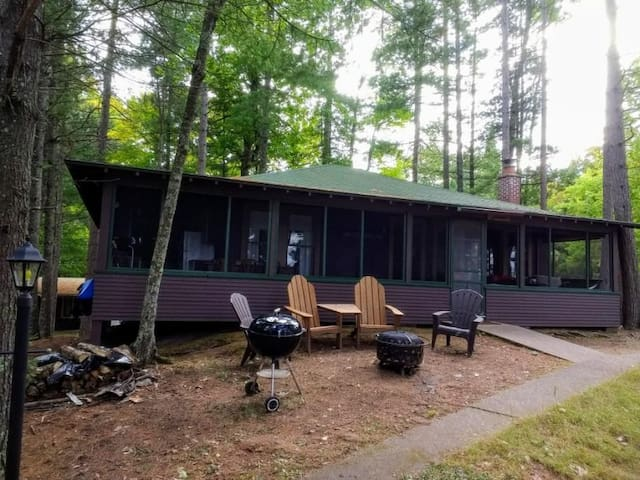 Innisfree Cabin on Plum Lake