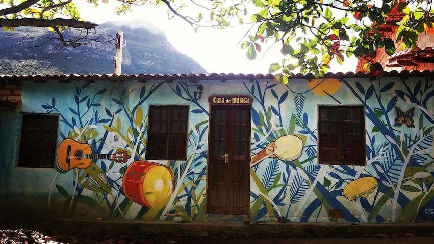 Casap/7pessoasValedoCapão - Caeté-Açu - Rumah