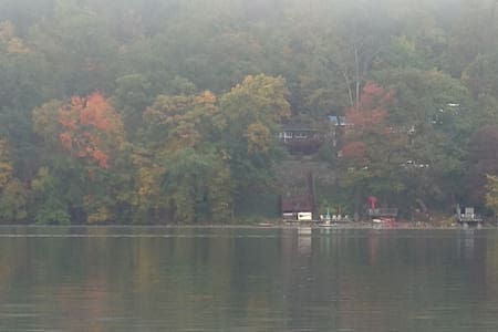 Charming lake house $280.00 - Belvidere - Huis