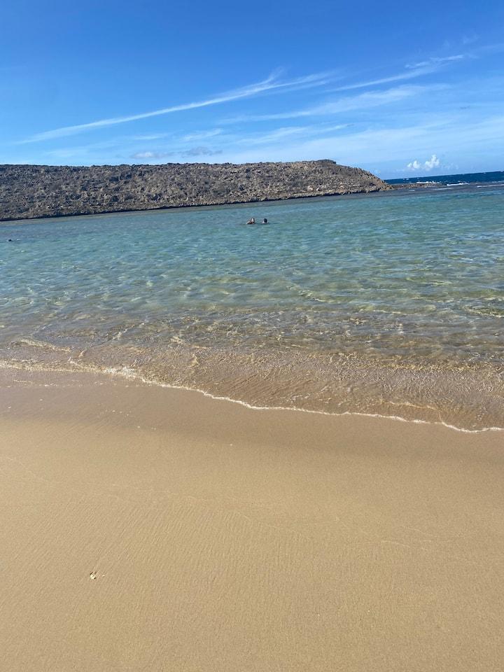 Montones Cabanas 1 min walking to beach