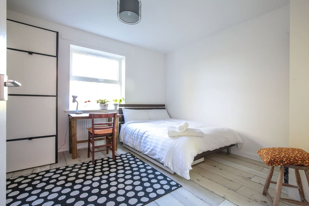Spacious bright double room