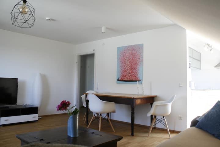 Ferienwohnung Weitblick, (Freiamt), Ferienwohnung Weitblick, 55qm, 1 Schlafzimmer, max. 3 Personen