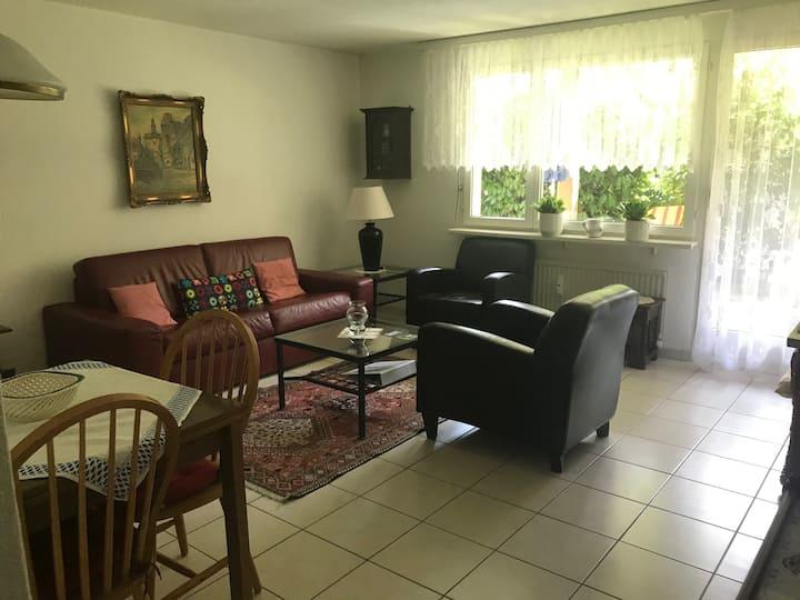 Tolle 2-Zimmerwohnung mit Gartensitzplatz