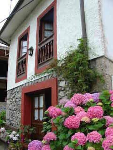 Preciosa casa de piedra en el centro de Celorio - Celorio