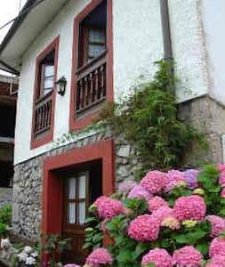 Preciosa casa de piedra en el centro de Celorio - Celorio - Dům