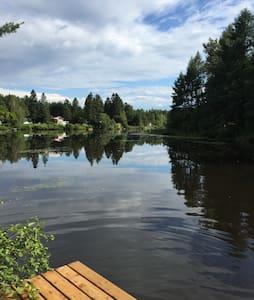 Chalet bord de l'eau - 1h Montréal - Saint-Alphonse-Rodriguez - Casa