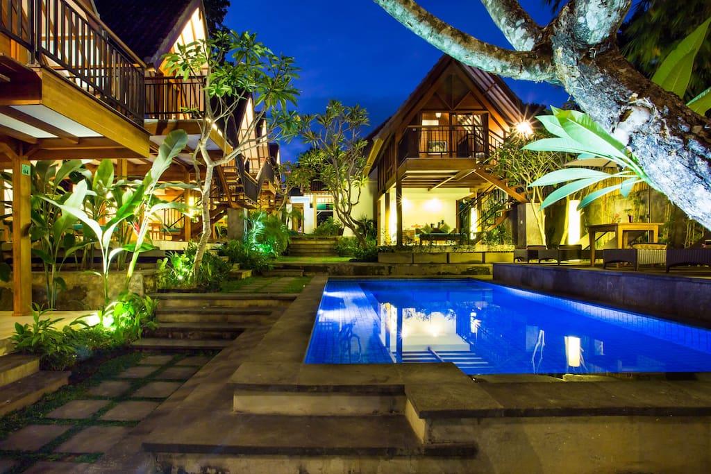 Aliya boutique hotel villas for rent in north kuta bali for Boutique hotel uzuri villa