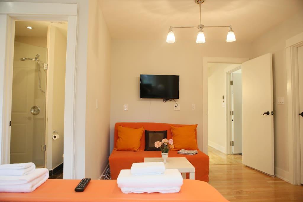 En Suite Bathrooms In Apartments: Deluxe King Room With En-Suite Bathroom