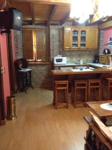 Apartamentos en Picos de Europa para 4 personas - Soto de la Ensertal - Ortak mülk