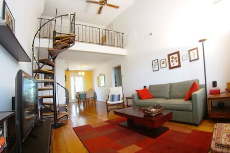 Mid-Century Modern 2br+Loft+Balcony
