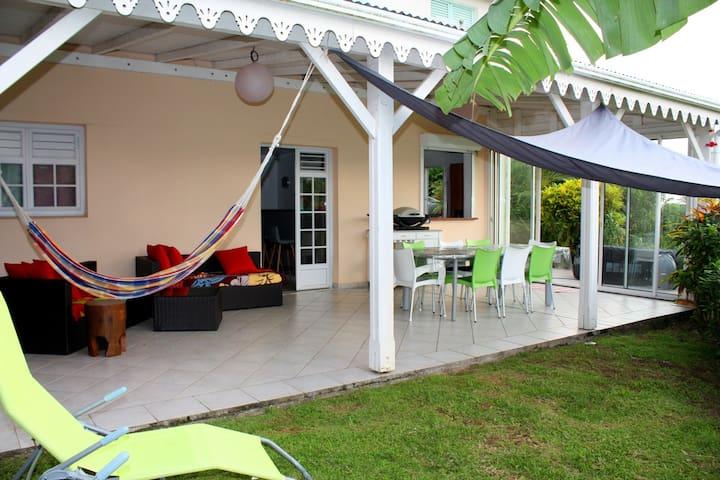 Résidence Les IBIS-Villa 2 chambres-Sud  Martinik