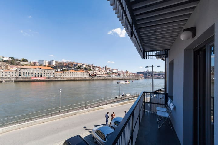 Excellent view to river & Porto - Vila Nova de Gaia - Loft