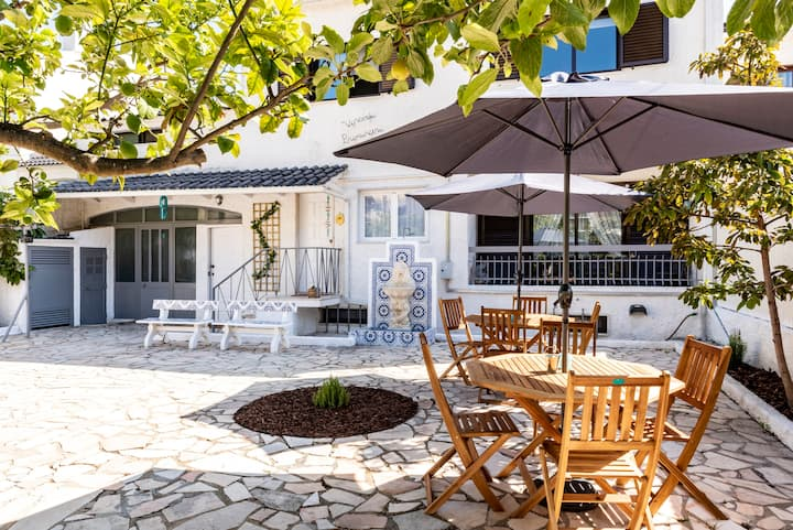 Nook Beach House | 8 min. walking to the beach | Full House Costa da Caparica