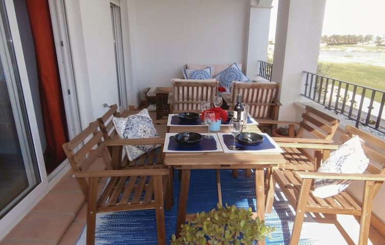 Holiday apartment with 2 bedrooms on 56m² in Roldán