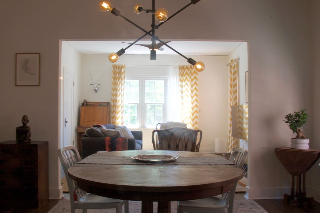 Dining Room to Living Room