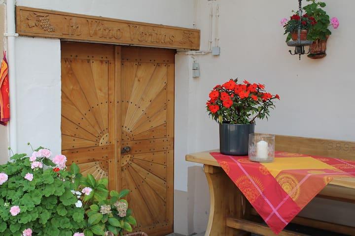 Idyllisches Winzerhaus im Rebenmeer - Pleisweiler-Oberhofen - Apartment