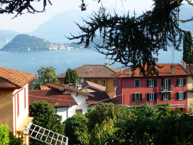 Casa Lisa wonderful view lake and mountaines ,Wifi - Menaggio - Leilighet