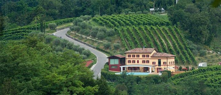 Villa di Lusso nelle colline del Prosecco 13 sleep