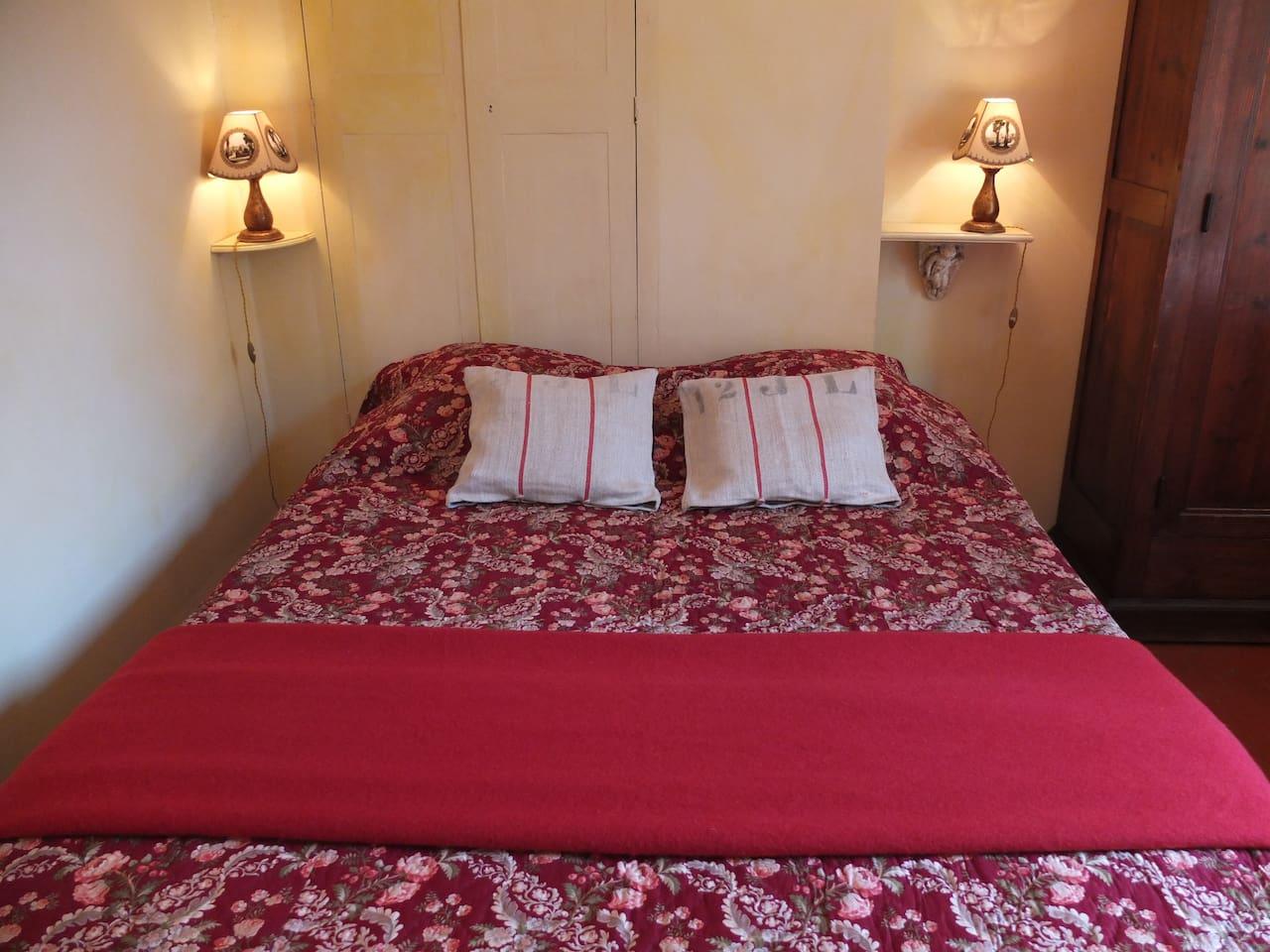 Le lit double pour bien rêver...