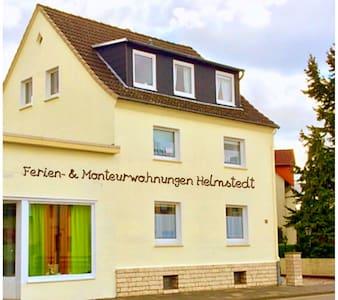 2mal FeWo TW mit je 2 Duschbäder/WC - Helmstedt - Appartement