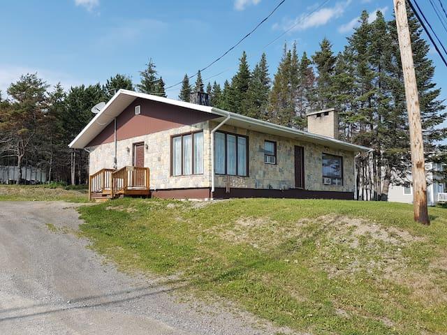 Maison complète pour famille et professionnels