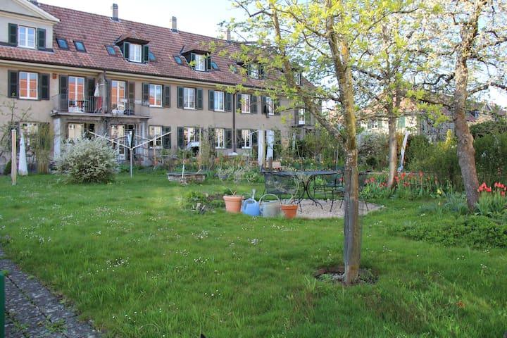 Schönes Zimmer mit Gartensicht  - Berne - Hus
