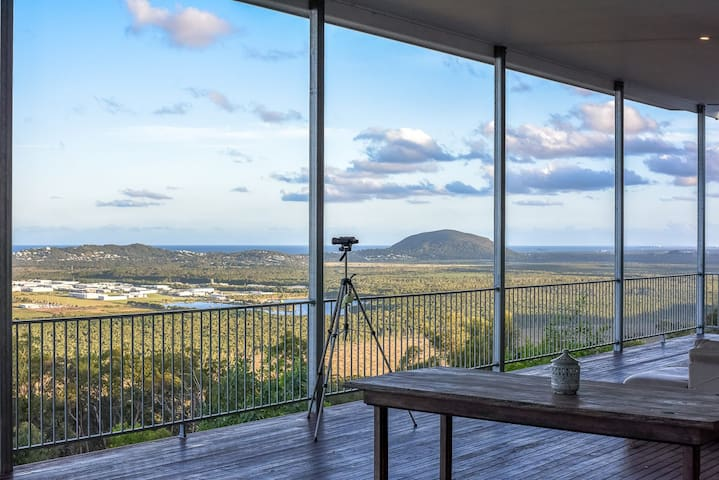 The House on the Hill - 5 Minutes to Coolum Beach - Verrierdale - Rumah