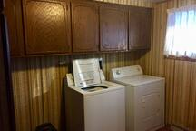 Laundry room from the past :P (machines are newer)