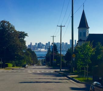 Mountains, Ocean, DT within grasp - North Vancouver