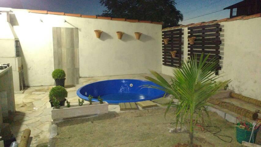 Praia Seca Centro- casa c piscina/Feriadão R$ 532 - Araruama - 獨棟