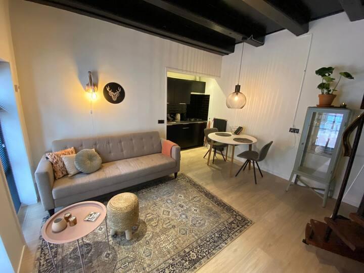 Knusse studio in hartje centrum van Dokkum.