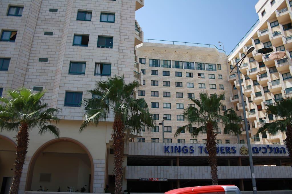 Kings Towers - Квартиры гостиничного типа в Тверии