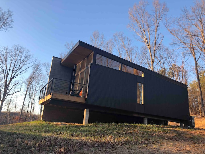 Modern Nashville Home in the Woods