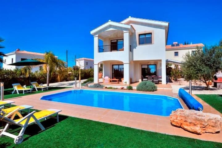 Beautiful Family Holiday Villa  - Paphos - House