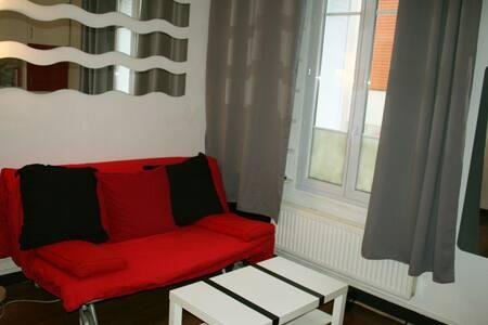 Chambre/Salon proche de Paris et de la Marne.
