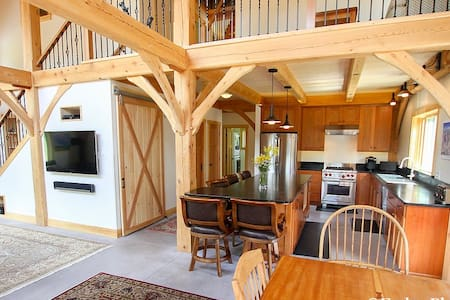 Sugarbush Post & Beam Home