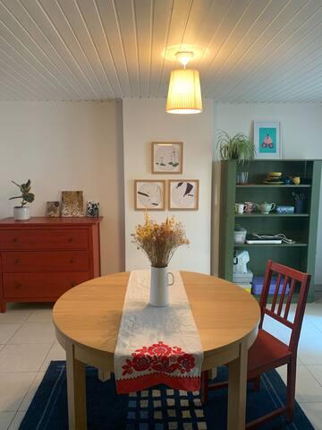 Studio apartment in Saint Gilles