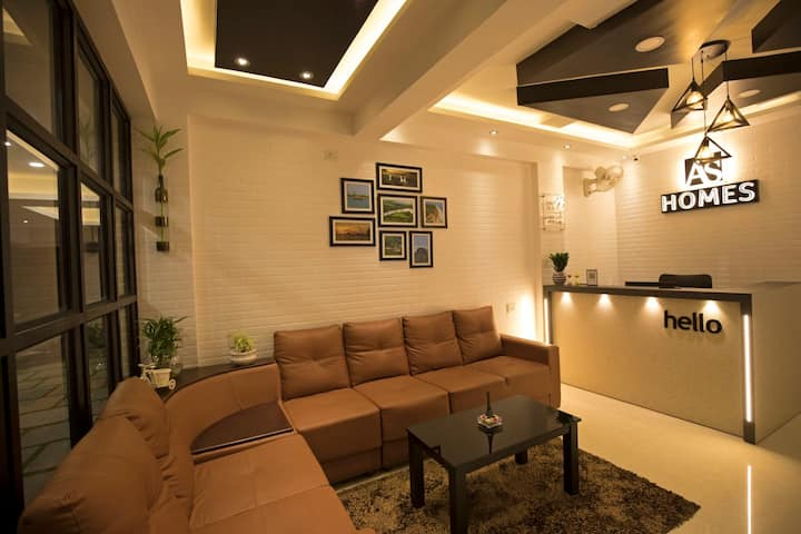AS HOMES (FULLY FURNISHED A/C 2BHK FOR DAILY RENT)