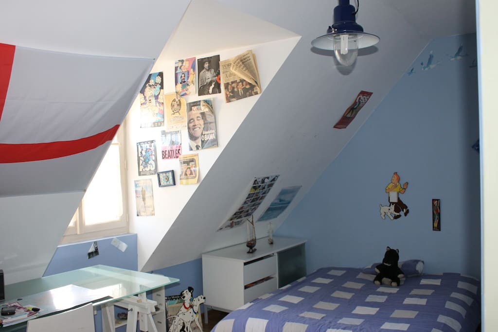 1 chambre 2 pers