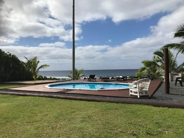 ENJOY PARADISE at Tupapa Ocean Villas🏝