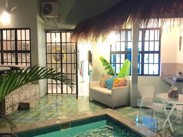 Casa Ganteng Canggu 2BR w/ wifi, aircon and pool
