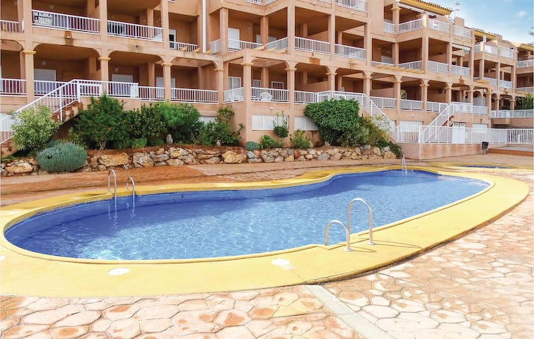 Holiday apartment with 2 bedrooms on 49 m² in Mojácar Playa