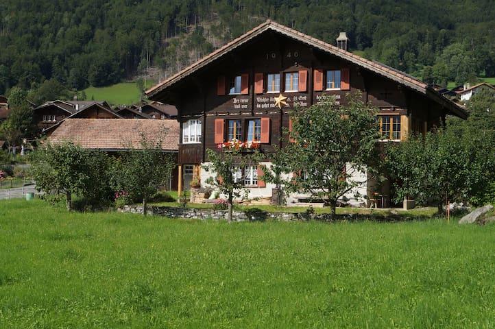 Schönes Oberländer Holzchalet - Brienzwiler - House