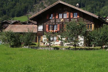 Schönes Oberländer Holzchalet - Brienzwiler - Casa