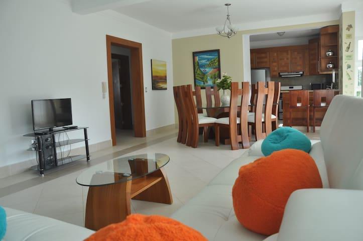 Central Luxury Apartment with Pool - Sosúa - Apartmen