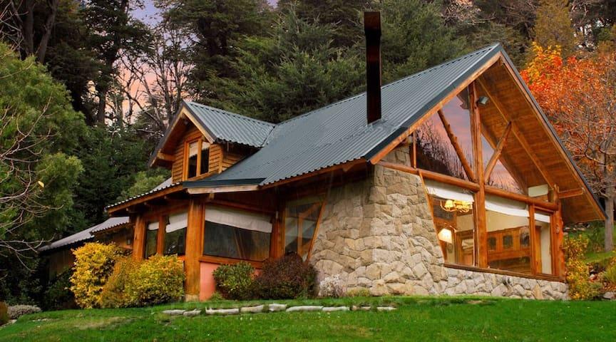 Casa en la ladera del Cerro Otto - San Carlos de Bariloche - บ้าน
